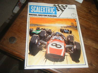 Vintage Scalextric 10Th Edition Catalogue Brochure