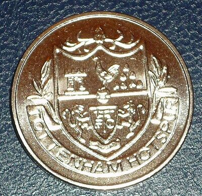 Tottenham Spurs Esso Fa Cup 1872-1972 Centenary Coin Excellent Condition Free Pp