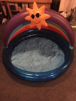 Chad Valley 🌞 Baby Pool / Ball Pit Indoor And Outdoor With Canopy