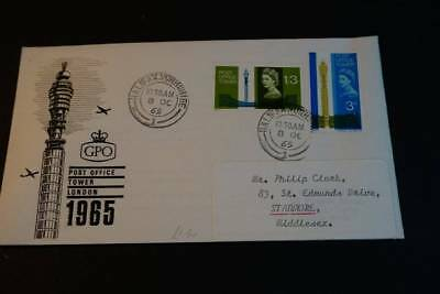 1965 post office tower first day cover   (J050)