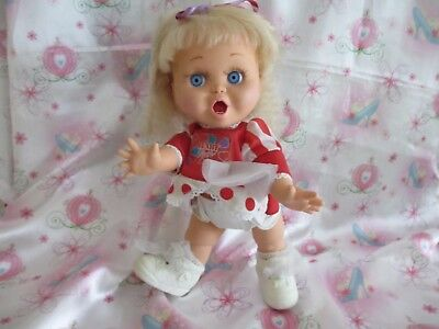 Galoob Baby Face Doll #2 So Surprised Suzie...very Nice! Original Outfit/shoes!