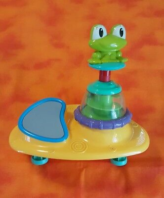 Bright Starts Doodle Bugs Around We Go Replacement Part Frog Spin Mirror 8230