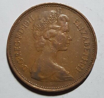 1971 Two Pence Great Britain/UK Coin