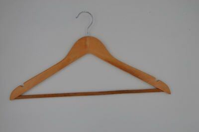Wooden clothes shop fashion hangers  commercial wholesale from 50 pcs
