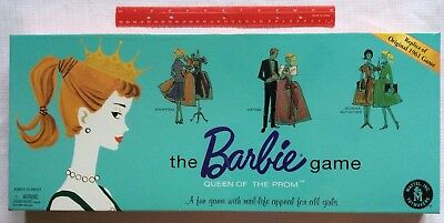 The Barbie Game Replica of Original 1961 Queen of the Prom Game, 1994 Mattel NEW