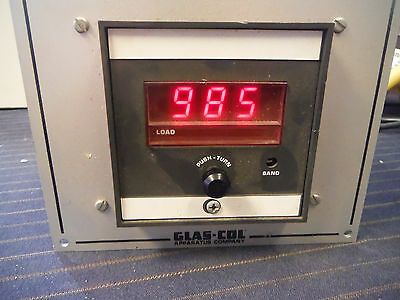 Glas-Col Temperature Controller PL712 Type J Thermocouple Power Supply 0-850C