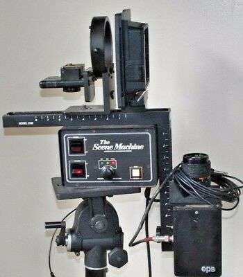 The Scene Machine Model  EPS 2100 Virtual Background. FREE SHIPPING