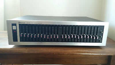 Sherwood EQ-200 Stereo Graphic Equalizer 12 Band