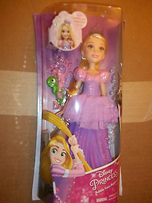 Disney bubbles with Rapunzel Tangled Princess New In Box