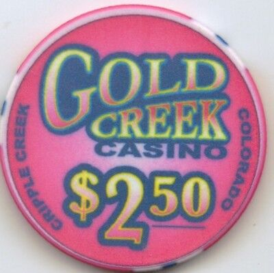 Gold Creek Casino - $2.50 Chip - Snapper - Colorado