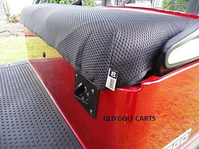 GOLF BUGGY / CART / SEAT COVERS / DIAMOND AIR MESH (Black OR Khaki)