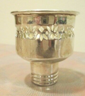 Gorham Sterling Silver Candle Candlestick Hurricane Holder Insert Single