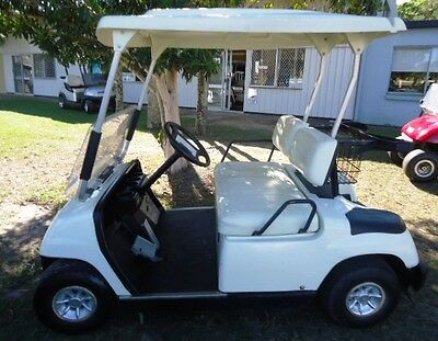 GOLF BUGGY/ CART 2003 YAMAHA G22E  NEW Trojan Batteries - Goes very well