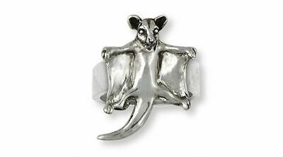 Sugar Glider Jewelry Sterling Silver Sugar Glider Ring Handmade Sugar Glider Jew