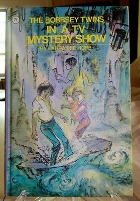 Bobbsey Twins 71: In A Tv Mystery Show—Solid Lavender Matte Pictorial Hardcover