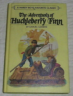 Hardy Boys Favorite Classic 03: The Adventures Of Huckleberry Finn—Pictorial—Htf