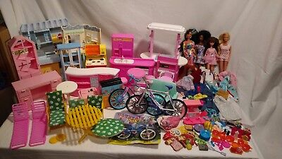 Vintage Barbie Dolls, Furnishings, Clothes, Accesories- Kitchens, Stores, Etc.