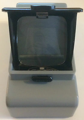 Vintage Table top Precam Slide Viewer - Collectible W/ light bulbs & holder
