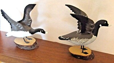 Hand Carved Canadian Geese