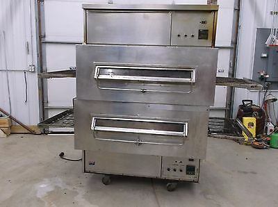 Middleby Marshall Conveyor Pizza Oven Natural Gas used works