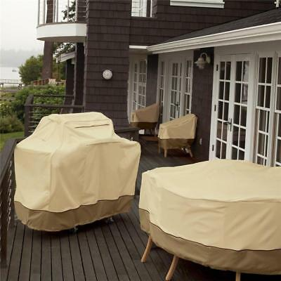 """Waterproof BBQ Cover 2 4 6 Burners Garden Barbecue Grill Storage 58"""" 64"""" 70"""" 72"""""""