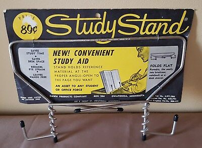 Vintage .89 Cent Study Stand Made In USA