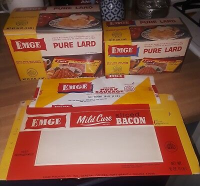 Emges, Anderson, Indiana, 4 pc, product packaging! NOS