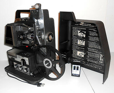 *WOW!* BELL & HOWELL MODEL 475 TELE-SONIC WIRELESS REMOTE CONTROL 8mm PROJECTOR!