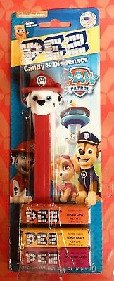 PEZ Paw Patrol Marshall the Dalmation New on Blister Card