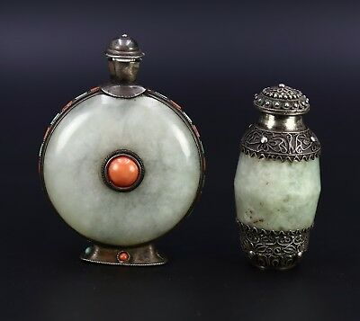 Two Chinese Antique snuffer bottles