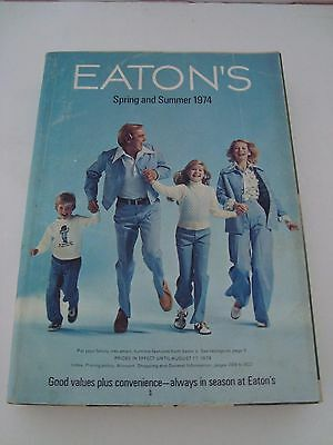 Vintage EATON'S Spring and Summer Catalogue 1974!