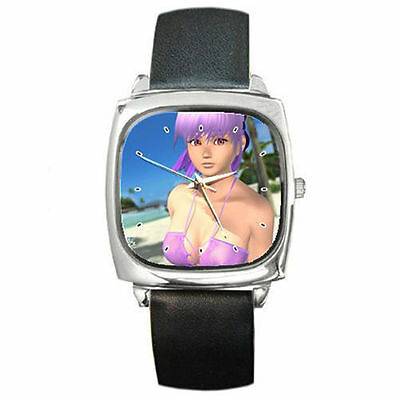 Dead or alive 5 ultimate leather wrist watch boys girls watch