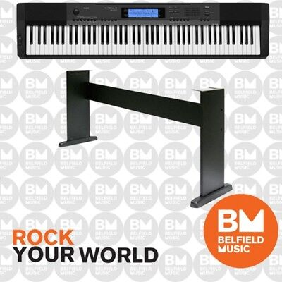 Casio CDP235 Digital Piano Black with Wooden Stand
