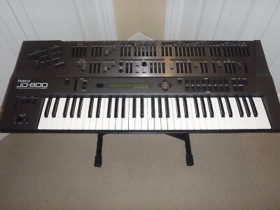 Roland JD-800 Synthesizer w/ Extras!