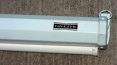 "Da-Lite Manual 48"" x 48"" Projection Screen"