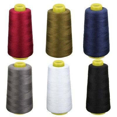 Overlocking 6 Polyester Sewing Color Thread Machine Industrial Yards Colors 3000