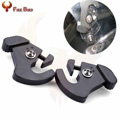 Detachable Rotary Sissy Bar Luggage Rack Latch Clips For Harley Road King
