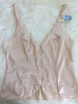 Vintage Camisole New Deadstock Warners Frostings Lingerie Dupont Antron 34