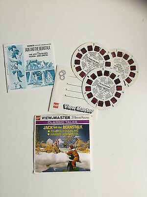 Viewmaster Reels x3 Classic Tales - 1951,1952 and 1957