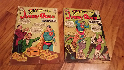 Superman's Pal Jimmy Olsen, DC, #73, 81 Silver Age