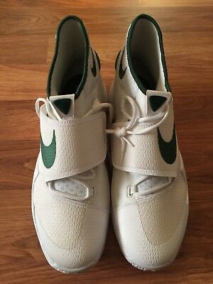 769ba76a35d0 NIKE HYPERFUSE TB 525019 300 Size 17.5 Forest Green White basketball ...