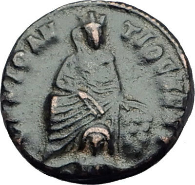 310AD Anonymous Ancient PAGAN Roman Coin GREAT PERSECUTION of CHRISTIANS i64515