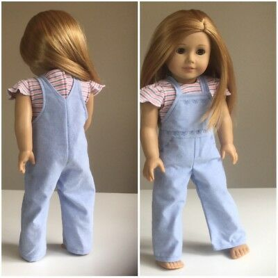 """Made To Fit, Our Generation Gotz 46cm 18"""" Doll Clothes Top And Pants ONLY"""