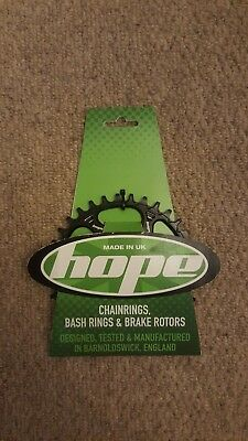 Hope spiderless retainer ring