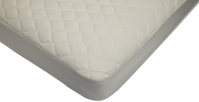 American Baby Company 82763 Organic Waterproof Quilted Crib and Toddler Pad Cove