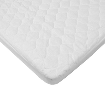 American Baby Company 2766 Waterproof Fitted Quilted Bassinet Mattress Pad Cover