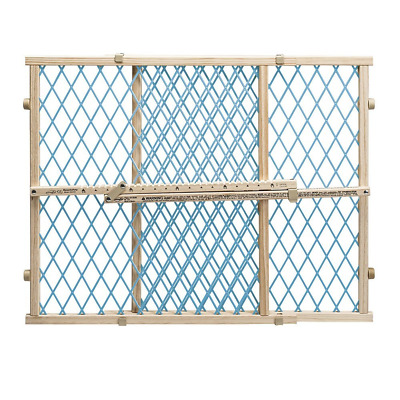 Evenflo Position and Lock Doorway Gate, Blue/Tan