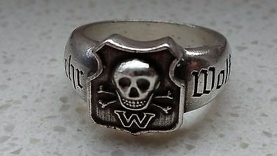"great Ring ""Wehrwolf""1923 warrior Corps Germany Haale a.d.Saale"