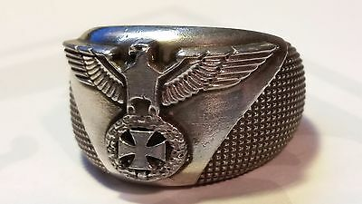 great massive eagle Ring Eagle with Iron Cross