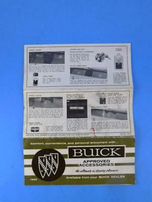 """1969 Buick """"Approved Accessories"""" Car Dealer Sales Brochure"""